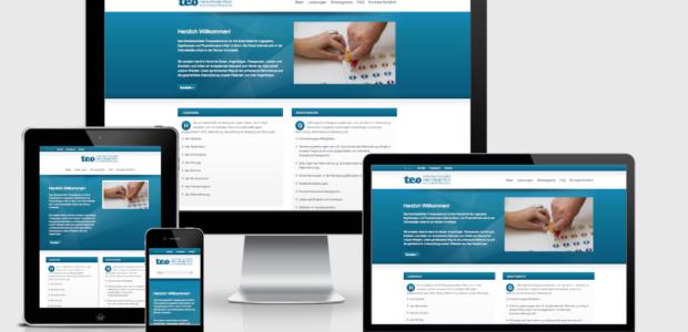 Neue Webseite online – Für mobile Endgeräte optimiert